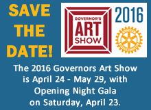 2016 Governors Art Show